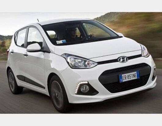 Hyundai i10 Αutomatic rentacarchios Kampas Chios rentacar category Κ